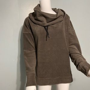 Calvin Klein performance fleece cowl neck